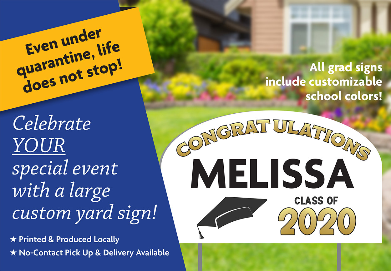 Order Your Graduate Yard Sign