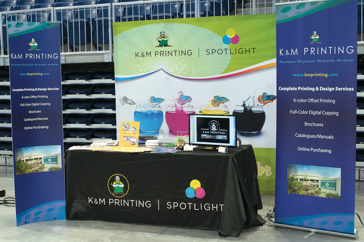 K&M Booth at the Chicago Chamber of Commerce