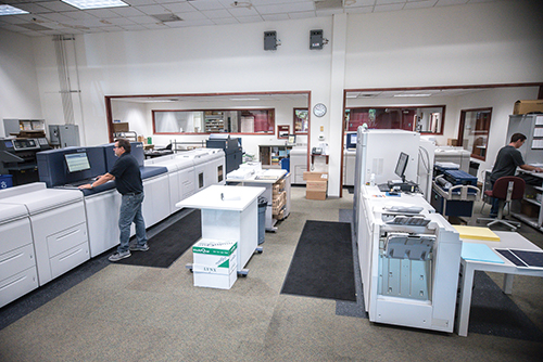 Digital Department at K&M Printing in Greater Chicagoland area.