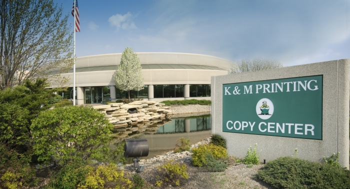 KM Printing Chicago Print Shop Facility