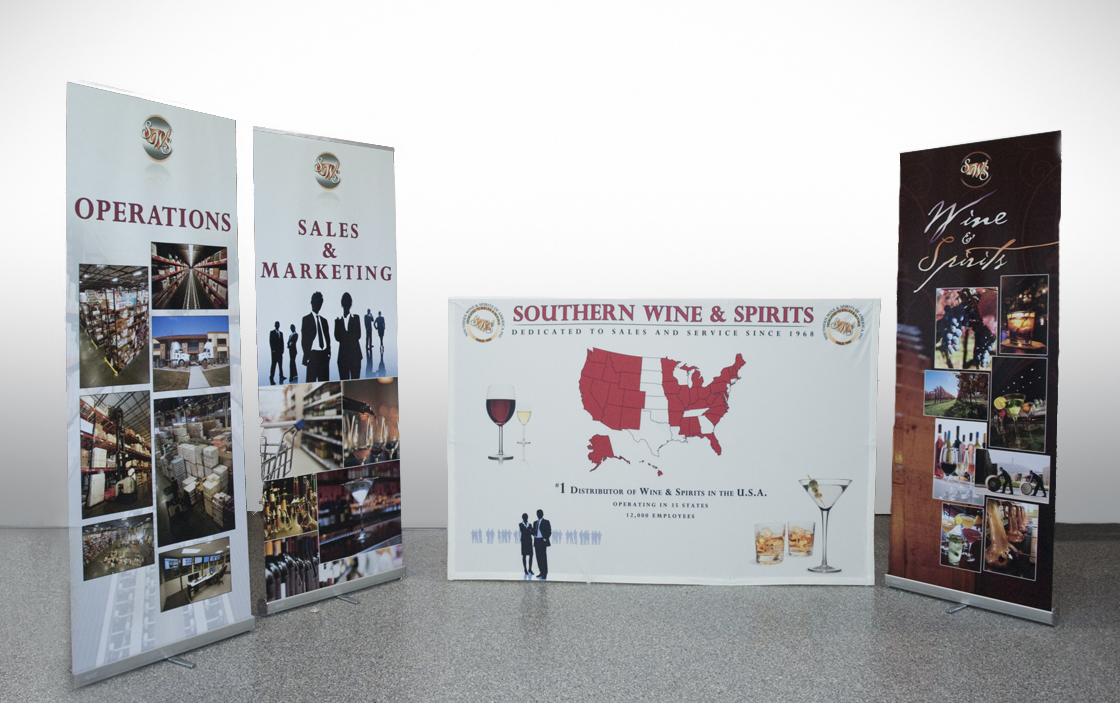Southern Wines Banner Printing